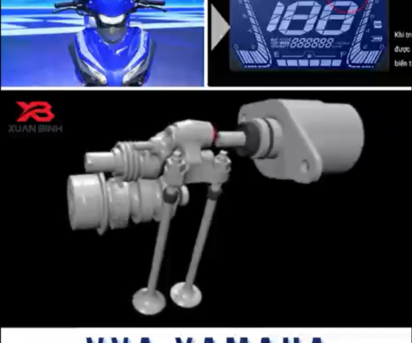 Công nghệ van biến thiên VVA xe Yamaha - Variable Valve Actuation