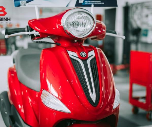 Trải nghiệm dịch vụ phủ bóng Yamaha - Thay áo mới cho xe máy