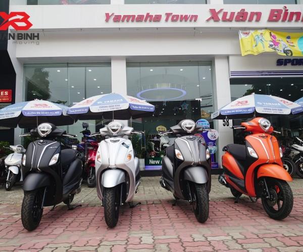 Grande Limited Edition 2021 đã có mặt tại Yamaha Xuân Bình