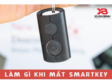 Làm gì khi mất chìa khóa Smart Key trên xe Yamaha ?